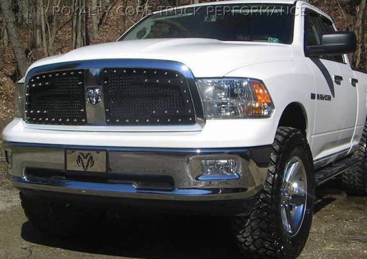 White ram royalty grille