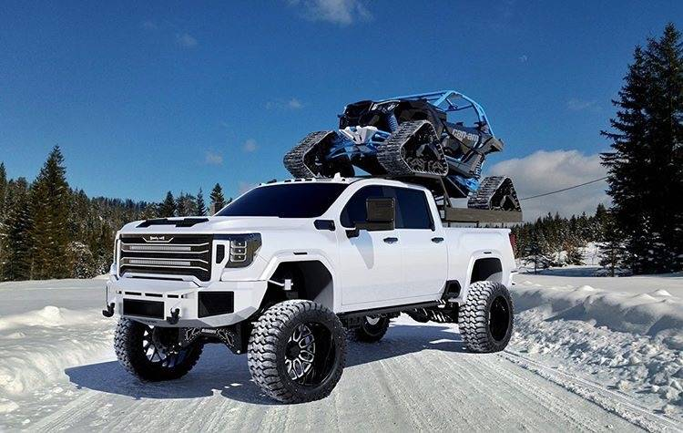 GMC 2500/3500 HD 2020+ RC4 DOUBLEX Layered with TWO 30 ...
