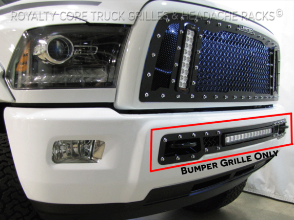 Dodge Ram 2013 2018 2500 3500 Bumper Grille With 20 Quot Led Bar
