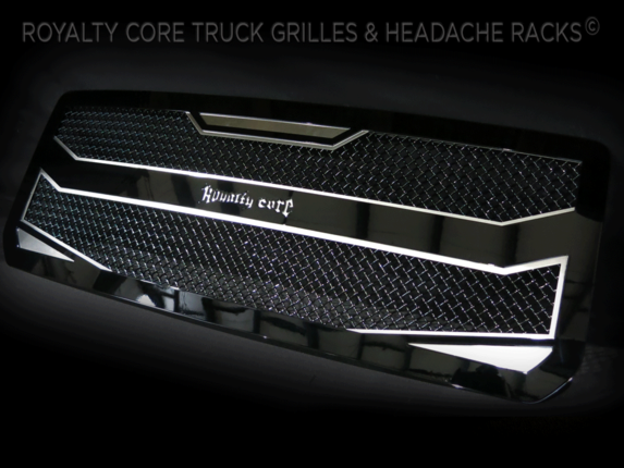 Royalty Core Nissan Titan 2016-2018 RC4 Layered Grille 100 ...