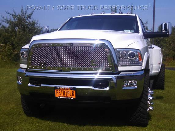 Dodge Ram 2500 3500 4500 2010 2012 Rc1 Classic Grille Chrome