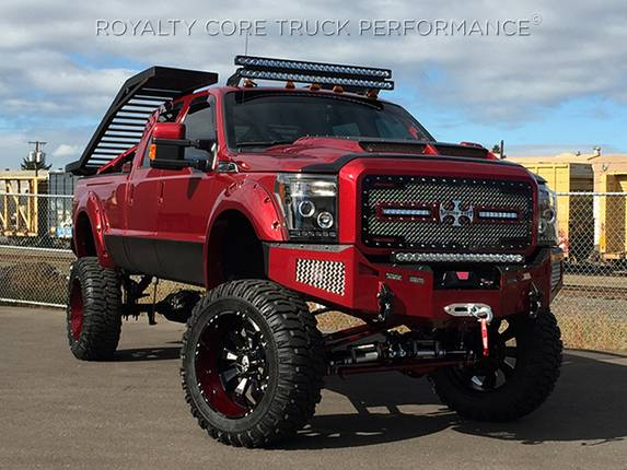 Ford Super Duty 2011 2016 Rc2x X Treme Dual Led Grille