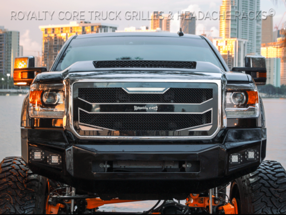 GMC Sierra HD 2500/3500 2015-2018 RC4 Layered Grille