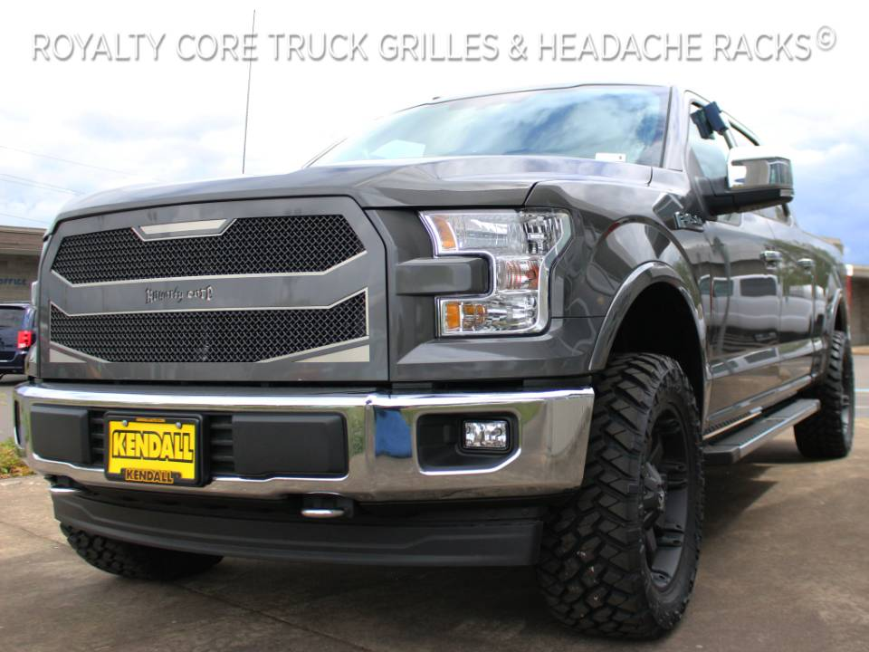 Ford F 150 2015 2017 Rc4 Layered Full Grille Replacement