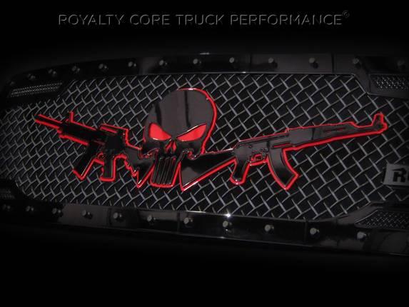 Royalty Core Ar15 Amp Punisher Emblem