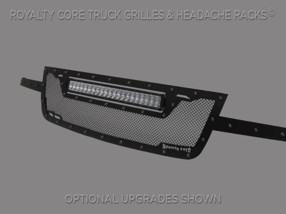 Chevy 2500 3500 2003 2004 Rcrx Led Full Grille Replacement