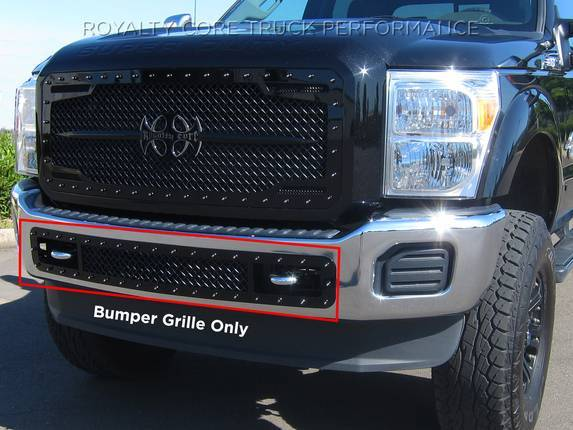 Ford Super Duty 2017 2019 Bumper Grille