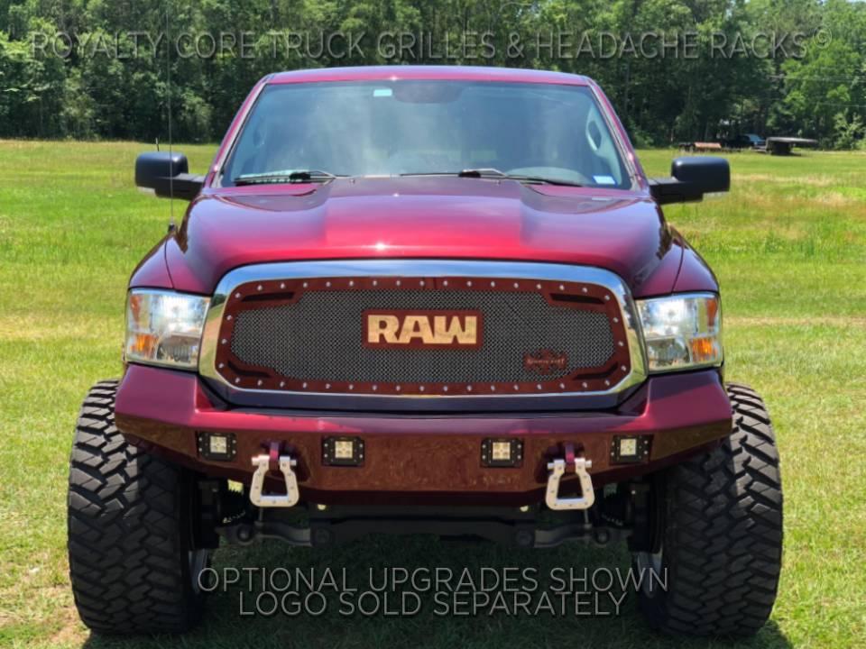 Dodge Ram 1500 2013-2018 RC2 Twin Mesh Grille