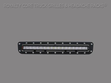 "Royalty Core - Chevy 2500/3500 2011-2014 Bumper Grille with 24"" LED Light Bar"