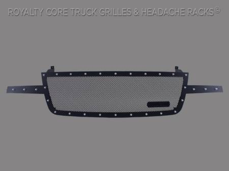 Royalty Core - Chevrolet 2500/3500 2005-2007 Full Grille Replacement RCR Race Line Grille