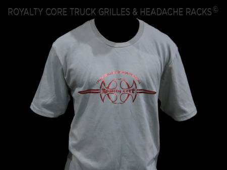Royalty Core - Royalty Core Branded Grey T-Shirt