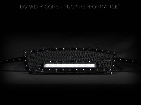 Royalty Core - Chevrolet 2500/3500 2005-2007 Full Grille Replacement RC1X Incredible LED Grille