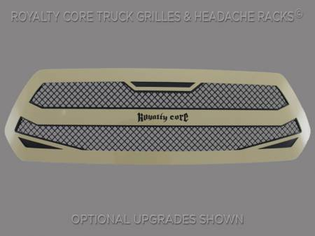 Royalty Core - Royalty Core Toyota Tacoma 2016-2018 RC4 Layered Grille 100% Stainless Steel Truck Grille