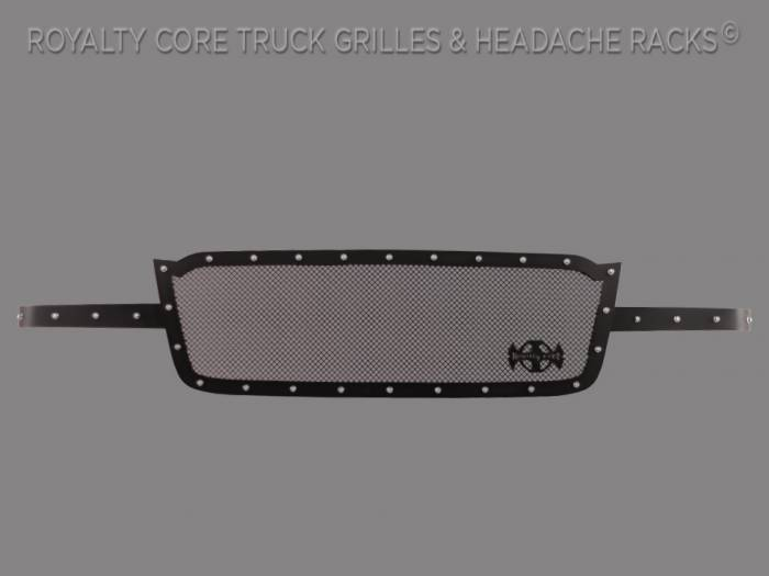 Royalty Core - Chevrolet 2500/3500 2003-2004 Full Grille Replacement RCR Race Line Grille