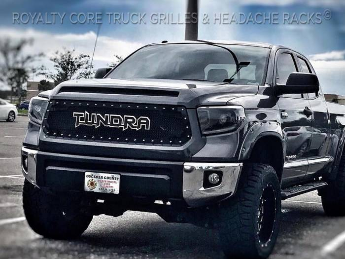Royalty Core - Toyota Tundra 2014-2020 RC2 Twin Mesh Grille with Tundra Emblem