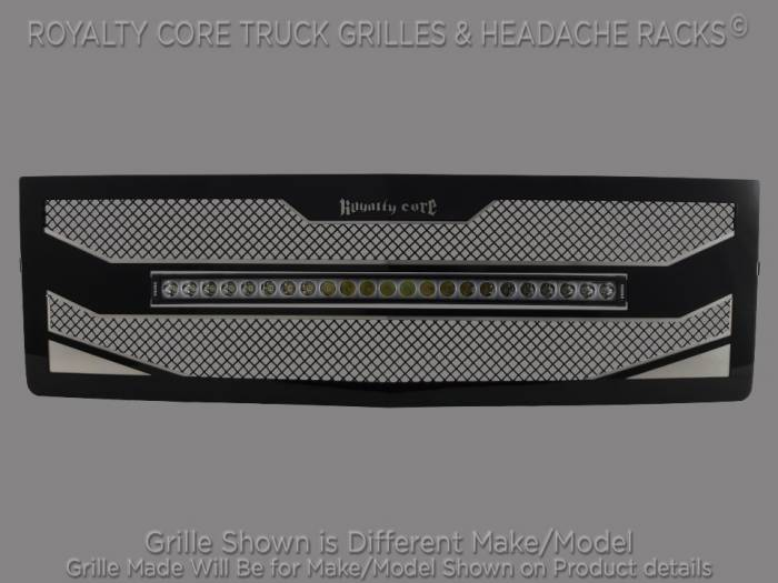 "Royalty Core - Ford F-150 2015-2017 RC4X Layered 30"" Curved LED Grille"
