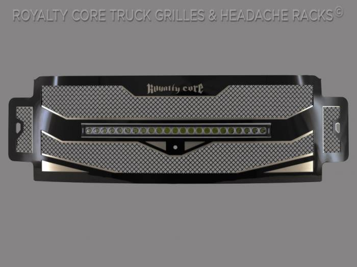 "Royalty Core - Ford Super Duty 2017-2019 RC4X Layered 30"" Curved LED Grille"
