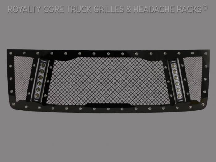 Royalty Core - GMC Sierra HD 2500/3500 2011-2014 RCX Explosive Dual LED Grille