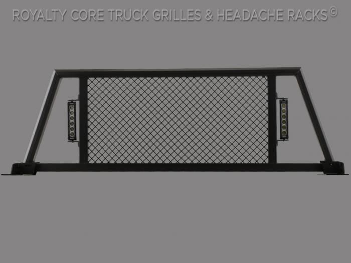 Royalty Core - Dodge Ram 2500/3500/4500 2003-2009 RC88X Billet Headache Rack w/ LED Light Bars