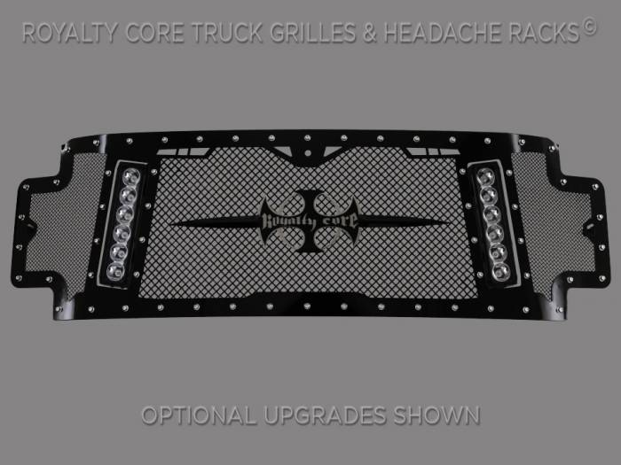 Royalty Core - Ford Super Duty 2017-2019 RCX Explosive Dual LED Full Grille Replacement*STOCK*