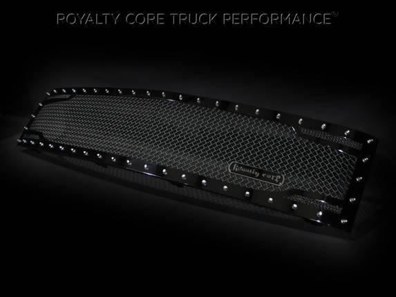 Royalty Core - Chevrolet 1500 2007-2013 Full Grille Replacement RC2 Twin Mesh Grille*STOCK*