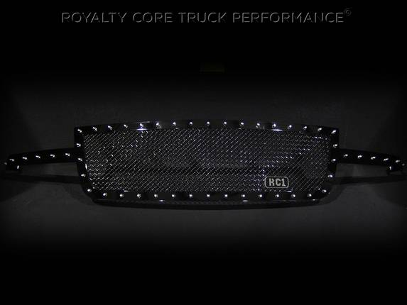 Royalty Core - Chevrolet 1500 2006-2007 Full Grille Replacement RC1 Classic Grille