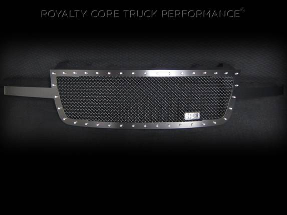 Royalty Core - Chevrolet 2500/3500 2005-2007 RC1 Full Grille Replacement Satin Black