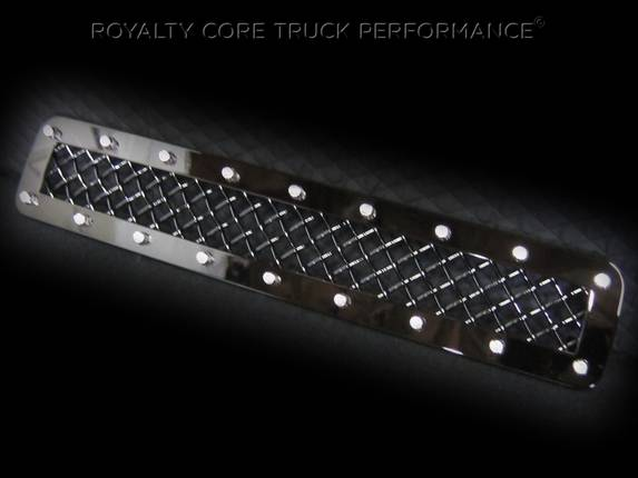 Royalty Core - GMC Sierra HD 2500/3500 2011-2014 Middle Bumper Grille