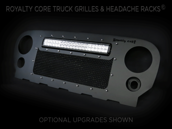 Royalty Core - Jeep Wrangler 2007-2017 RCRX LED Race Line Full Grille Replacement-Top Mount LED