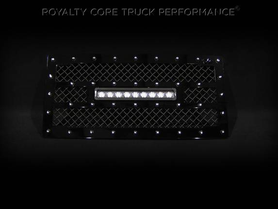 Royalty Core - Jeep Wrangler 2007-2016 RC1X Incredible Center LED Grille
