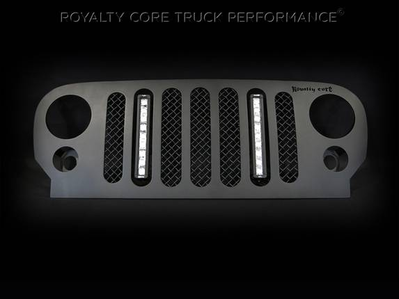 Royalty Core - Jeep Wrangler 2007-2016 RCJK Full Grille Replacement W/LED