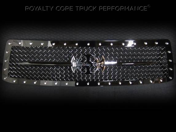 Royalty Core - Toyota Tundra 2010-2013 RC1 Main Grille with Black Sword Assembly