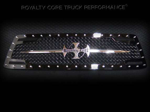 Royalty Core - Toyota Tundra 2010-2013 RC2 Main Grille with Chrome Sword Assembly