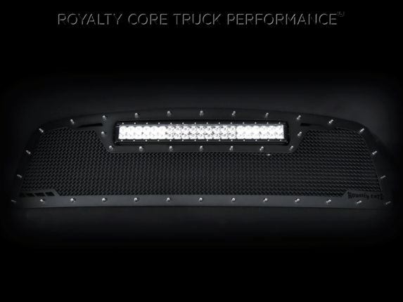 Royalty Core - Nissan Armada 2005-2007 Full Replacement RCRX LED Line Race Grille-Top Mount LED