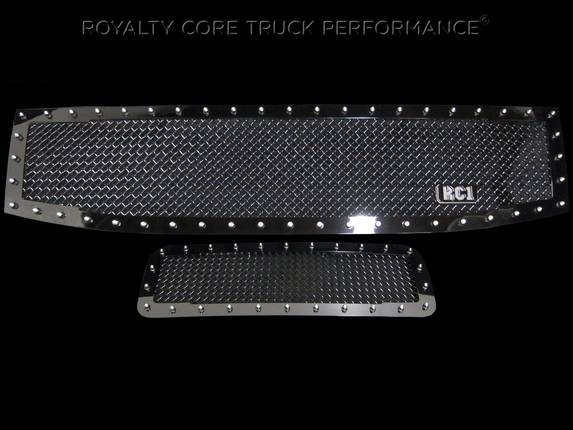 Royalty Core - Nissan Titan 2004-2015 RC1 Grille w/ Matching Bumper Grille Package
