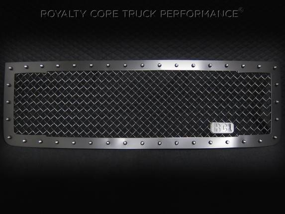 Royalty Core - GMC 2500/3500 Denali HD 2011-2014 RC1 Main Grille Satin Black