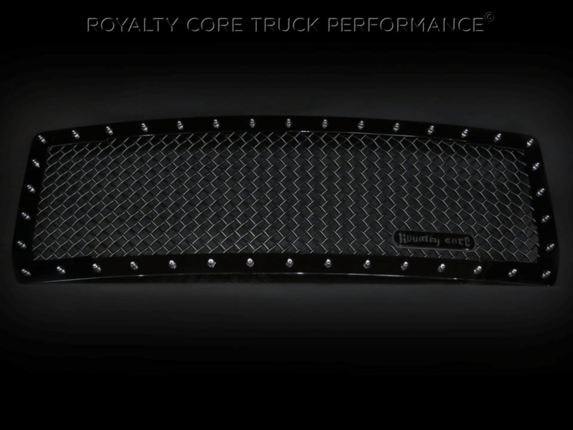 Royalty Core - GMC Sierra 1500, Denali, & All Terrain 2014-2015 RC1 Main Grille GB 5.0 Mesh