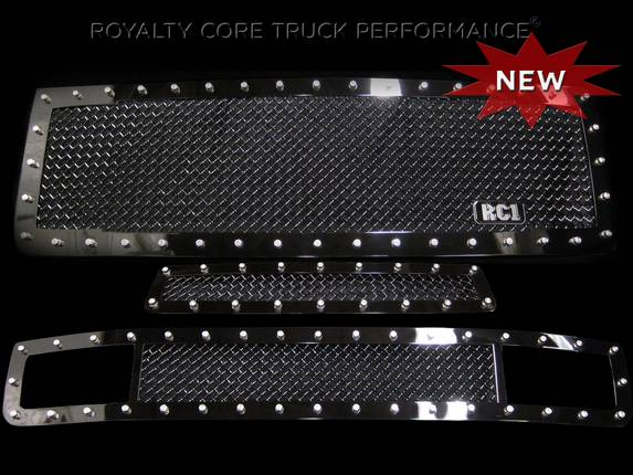 Royalty Core - GMC Denali 2500/3500 HD 2011-2014 RC1 Main, Middle, and Bumper Grille Package