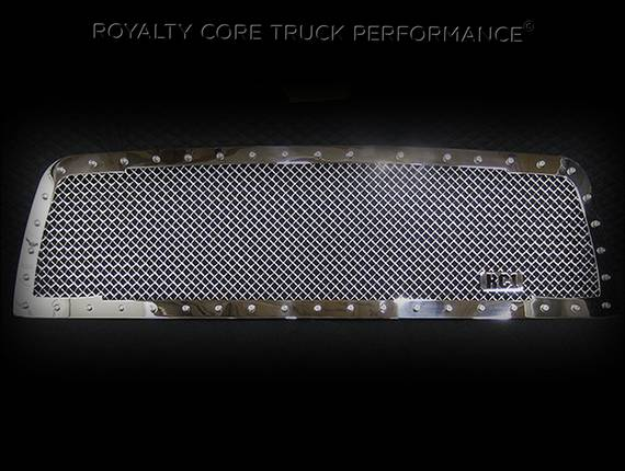 Royalty Core - GMC Sierra HD 2500/3500 2007-2010 RC1 Classic Grille Chrome