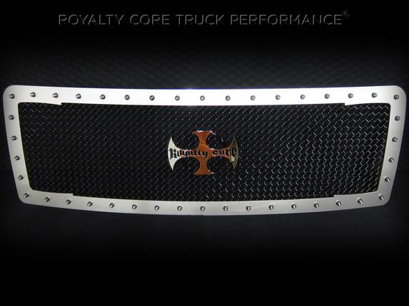 Royalty Core - Ford F-150 2013-2014 RC1 Factory Color Match Main Grille with Center Emblem