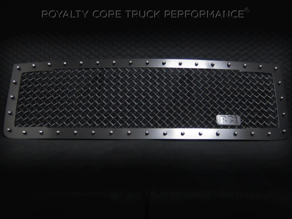 Royalty Core - GMC Sierra 2500/3500 HD 2011-2014 RC1 Main Grille Satin Black