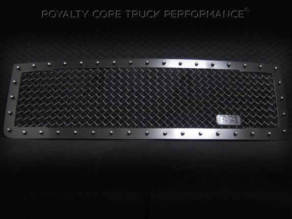 Royalty Core - GMC Sierra 2500/3500 HD 2011-2014 RC1 Main Grille Satin Black