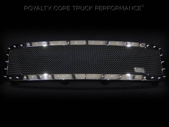 Royalty Core - Chevrolet 1500 2007-2013 Full Grille Replacement RC1 Classic Grille Chrome