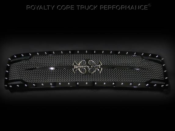 Royalty Core - Chevrolet 1500 2007-2013 RC2 Full Grille Replacement with Sword Assembly