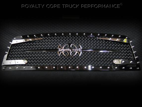 Royalty Core - Chevrolet 1500 2007-2013 Full Grille Replacement RC3DX Innovative