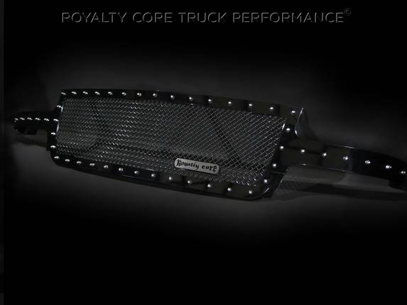 Royalty Core - Chevrolet 2500/3500 1999-2002 Full Grille Replacement RC1 Classic Grille