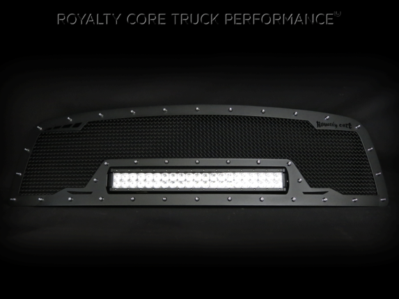 Royalty Core - Chevy 2500/3500 2003-2004 RCRX Full Grille Replacement LED Race Line