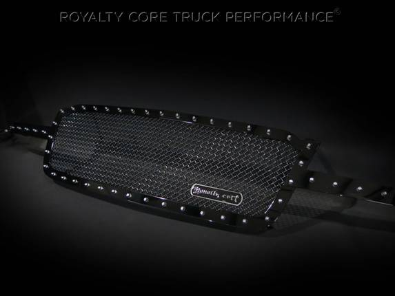 Royalty Core - Chevrolet 2500/3500 2005-2007 Full Grille Replacement RC1 Classic Grille