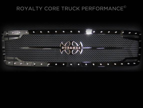 Royalty Core - Chevrolet 2500/3500 2007-2010 RC2 Full Grille Replacement with Sword Assembly