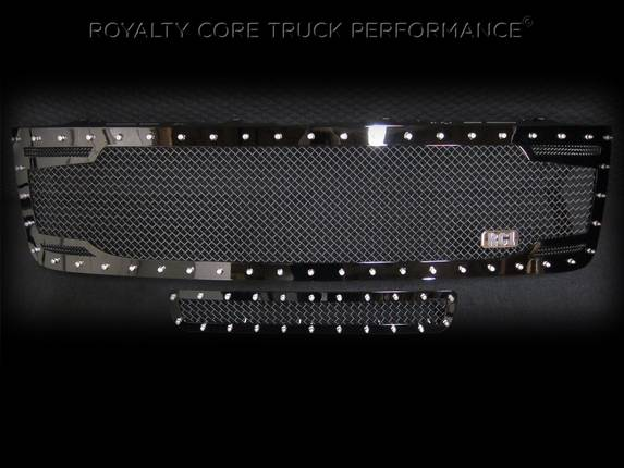 Royalty Core - Chevy 2500/3500 2011-2014 RC2 Full Grille Replacement & Bumper Grille Package
